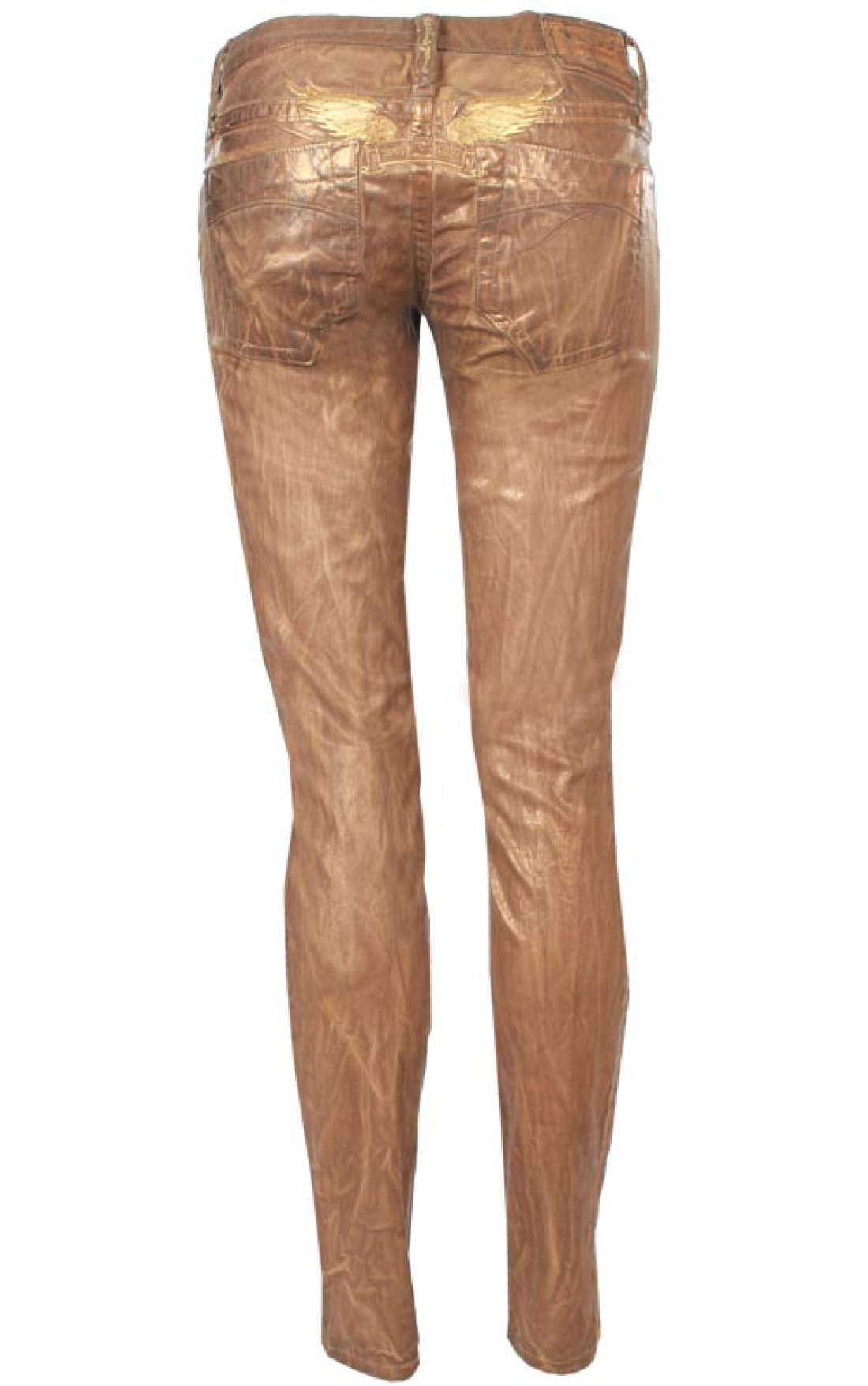Womens Brown Skinny Jeans