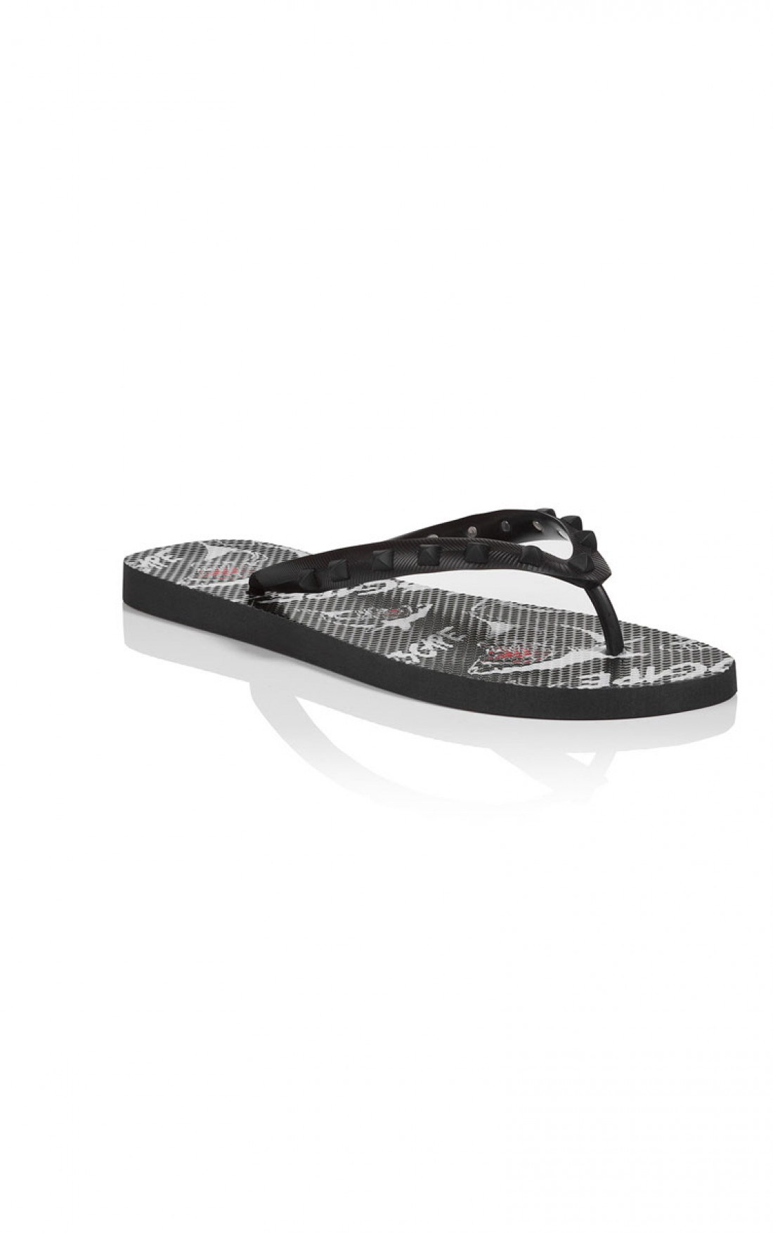 ll over printed flip flop Philipp Plein
