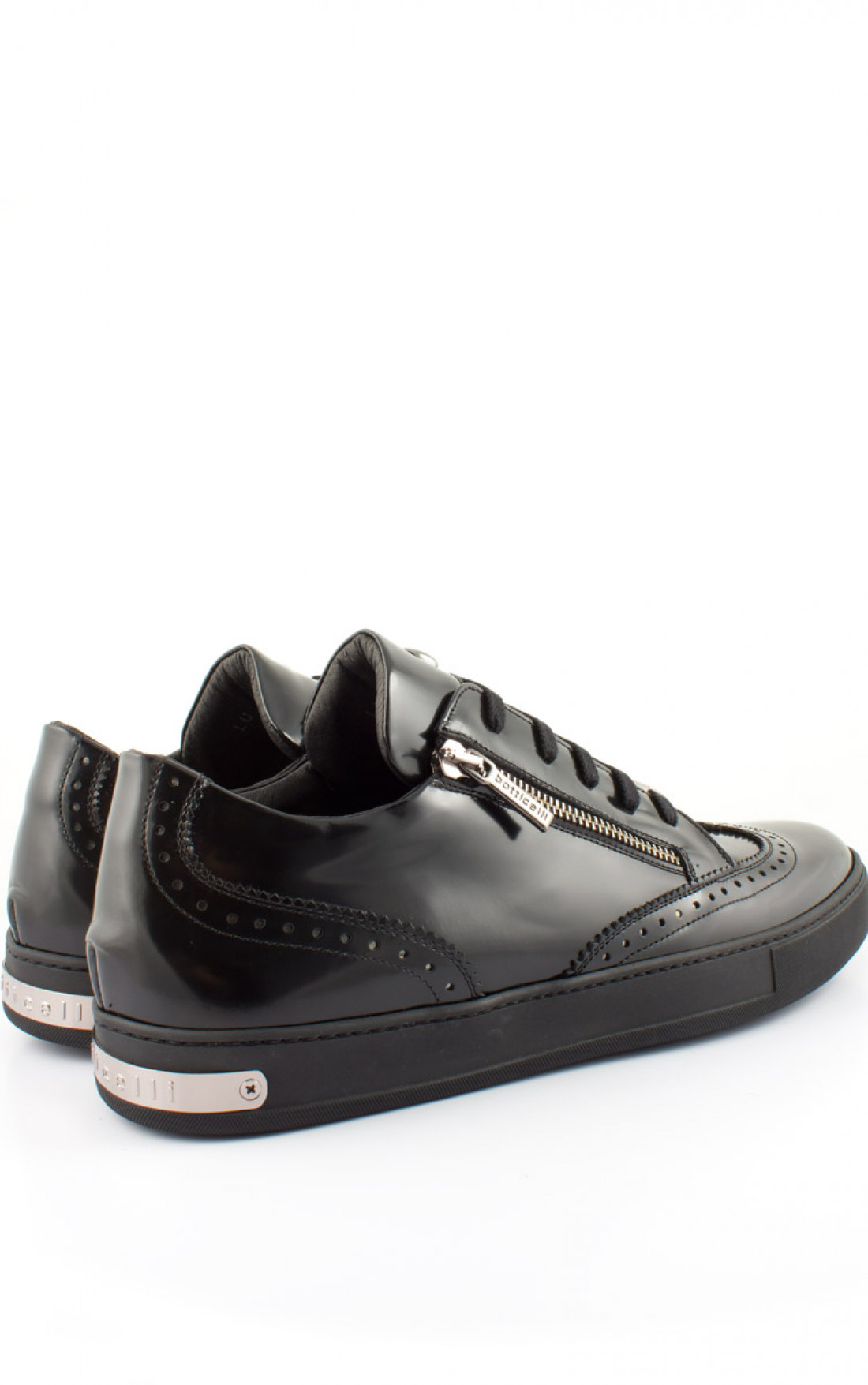 4754c2c464a5 ... Roberto Botticelli -  Brogue  Shoes Black Pair Back (LU27461F) ...