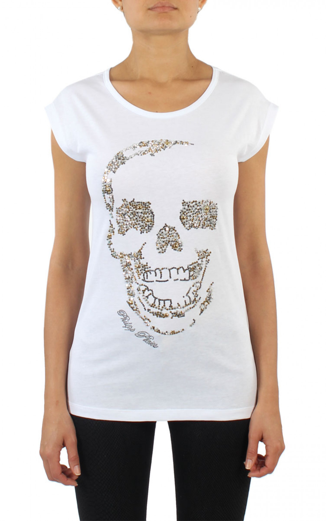 philipp plein diamond skull t shirt white boudi uk