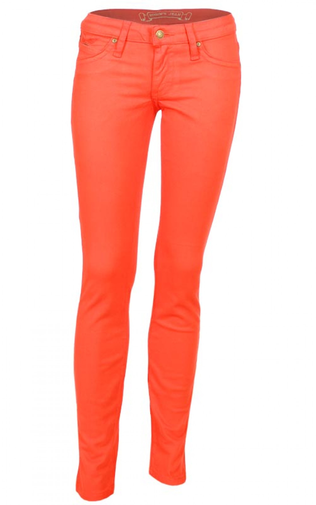 Robins Jeans | Womens Coloured Jeans Orange | Boudi UK