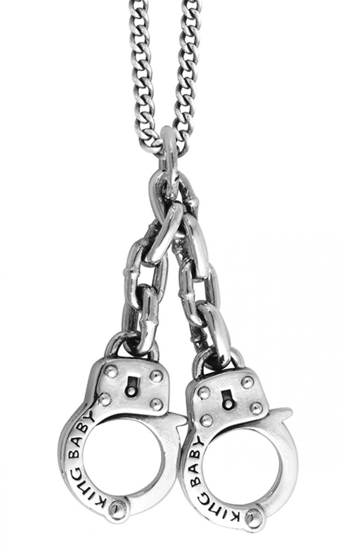 King baby mens large handcuff pendant king baby pendant online king baby large handcuff pendant k10 5465 aloadofball Image collections