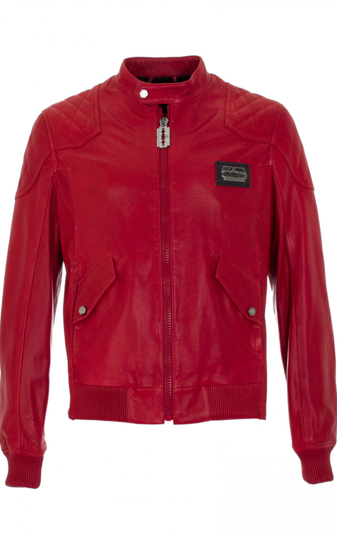 f8b9dbf0a27 Philipp Plein - 'The Risk' Jacket Red Front (SS14-HM211494) ...
