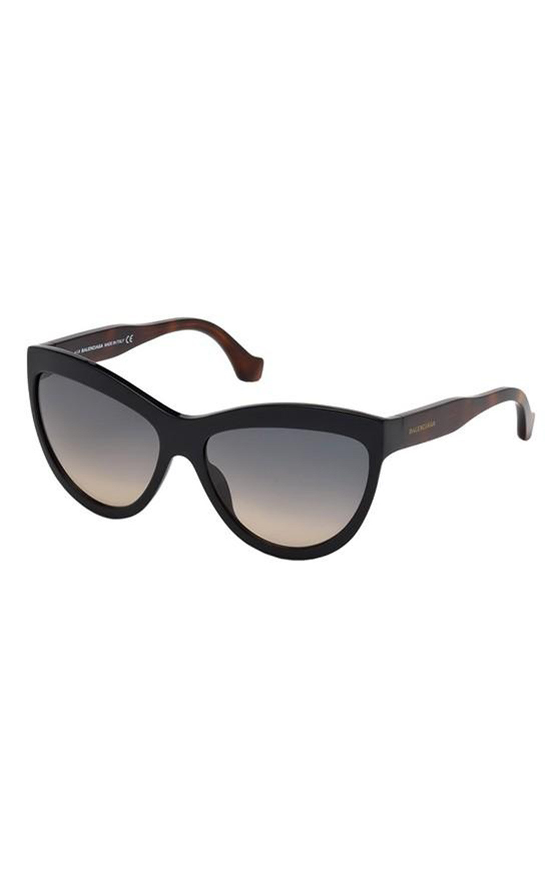 71b8f6030d1 Balenciaga - Black Havana Cat Eye Sunglasses (BA0090)