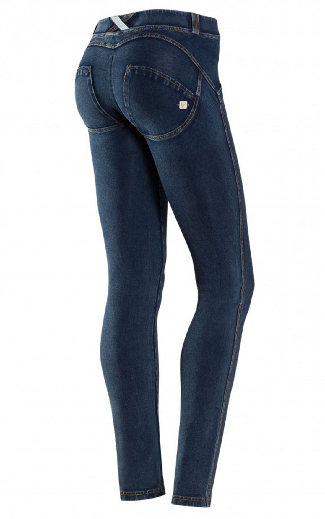 4b959aa6ef238 Freddy - Wr.Up® Shaping Effect Mid Waist Skinny Jeggings Dark Denim  (WRUP1RJ1E_J0Y ...