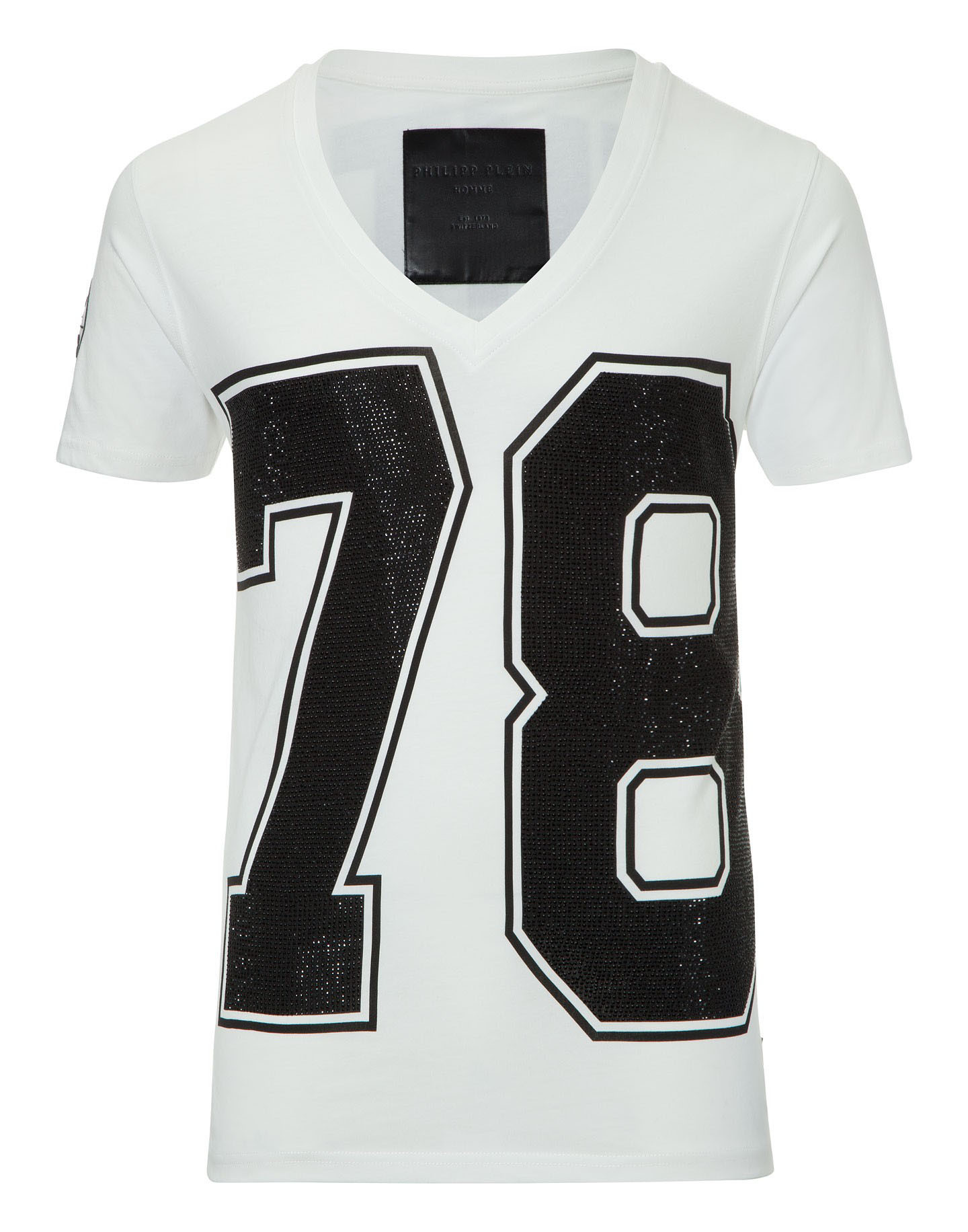 55ce1ad7622 Philipp Plein - 78 Fighter White T-Shirt (FW15-HM345032) .