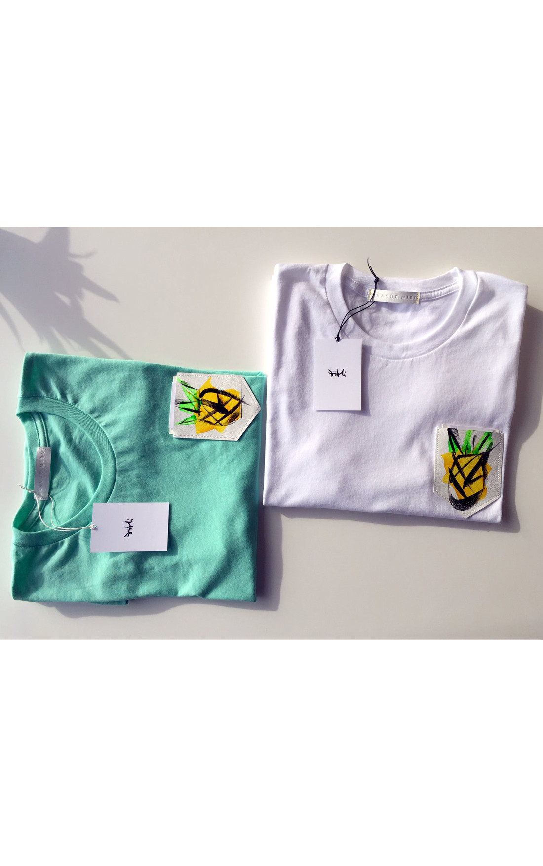Braque Miro - Pineapple White T-Shirt (PINEAPPLE)
