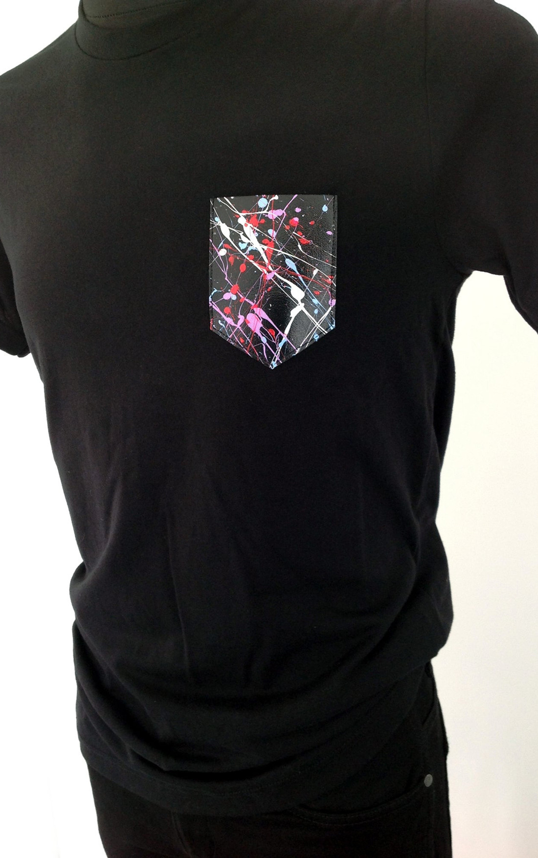 Braque Miro - Abstract Black T-Shirt (ABSTRACT BLACK)