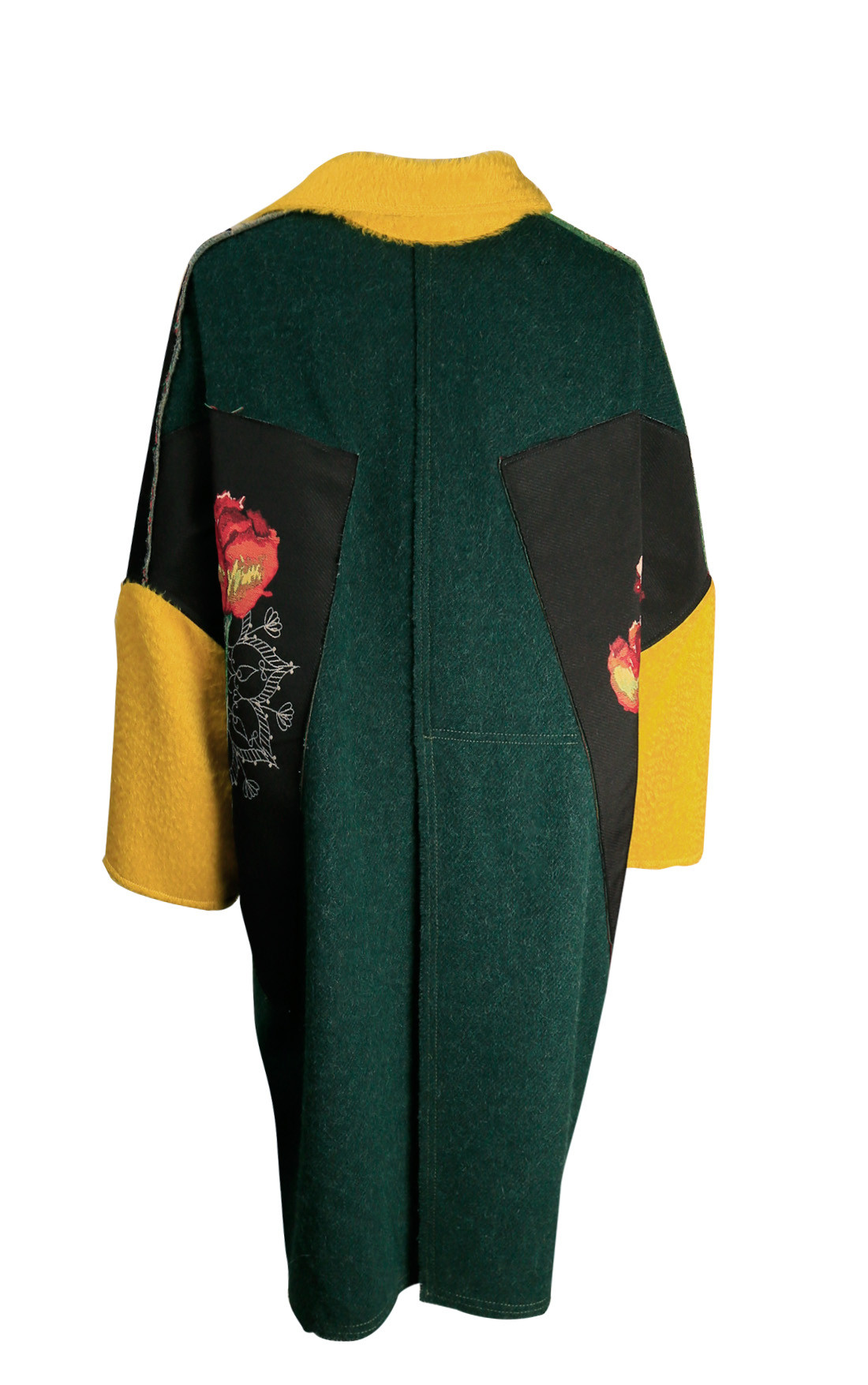 Ermanno Gallamini - Oversized Block Colour Coat (FW19-CAPPOTTOAGATA-26)