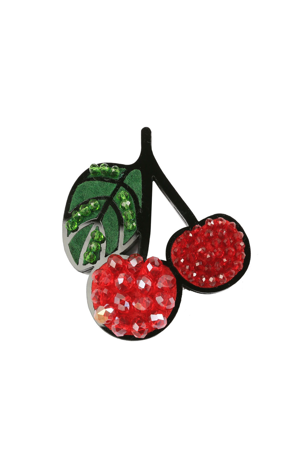 Fashion Drug - Magnetic Cherry Brooch (Cherry)
