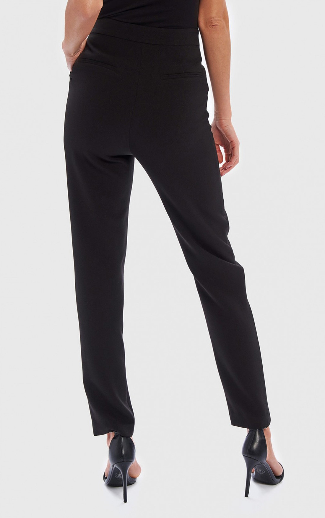 Forever Unique - Rue Black Cigarette Trousers (WF1153)