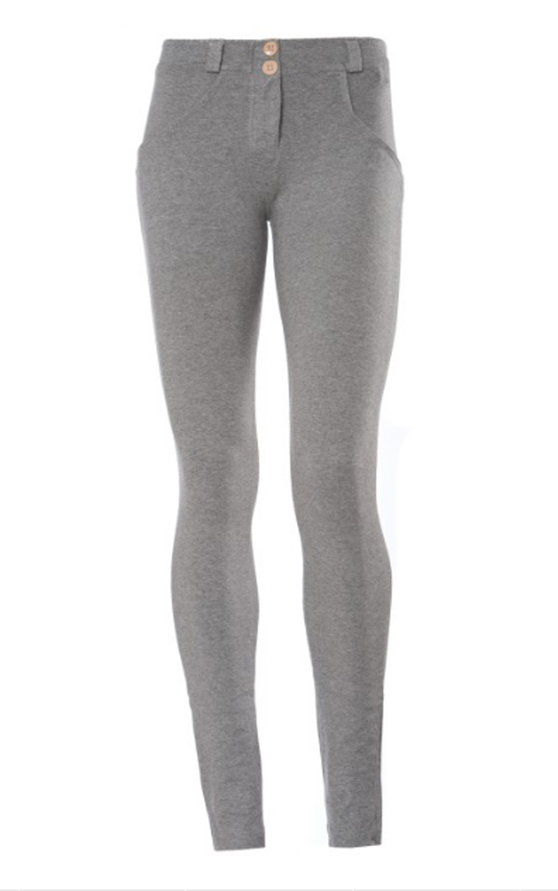 Freddy - Wr.Up® Shaping Effect Mid Waist Skinny Jeggings Grey (WRUP1R1E_H40)