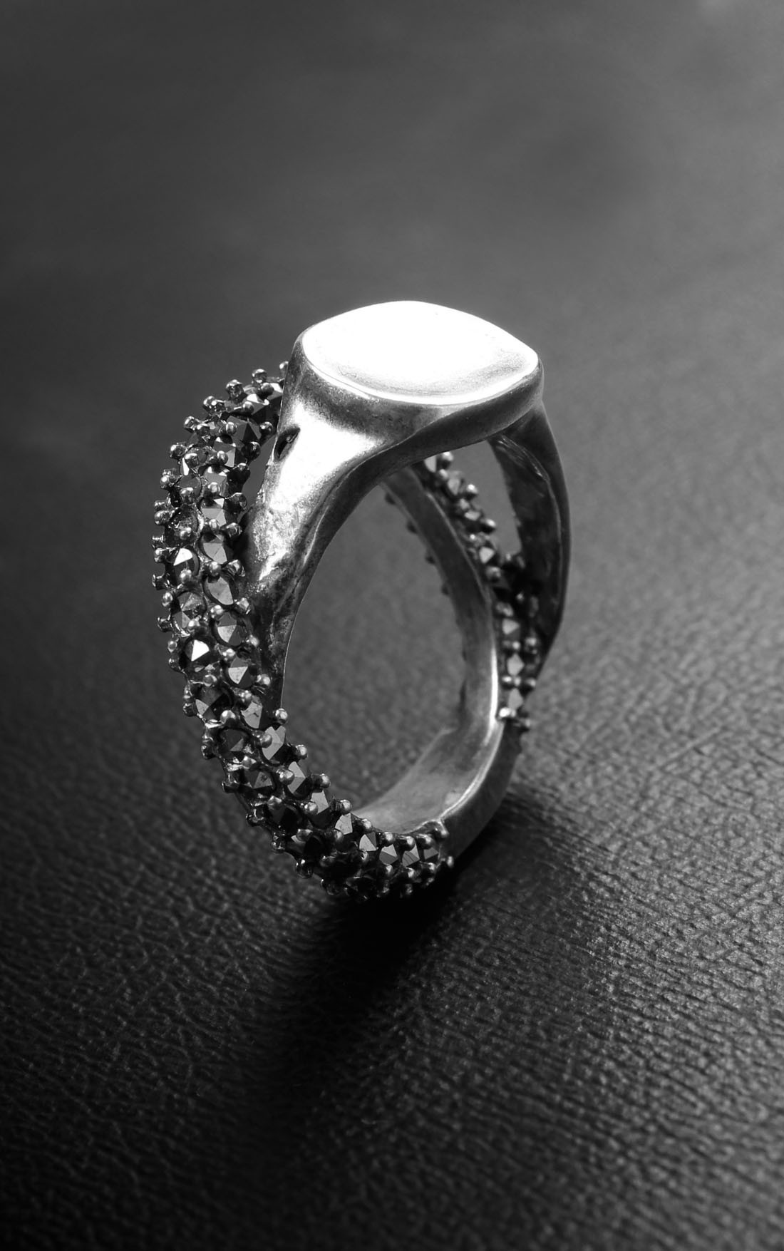 Goti - Silver Double Ring (AN950/4)