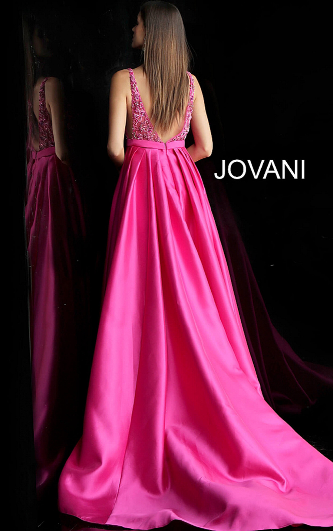 Jovani - Royal Blue Ballgown Dress (60016)