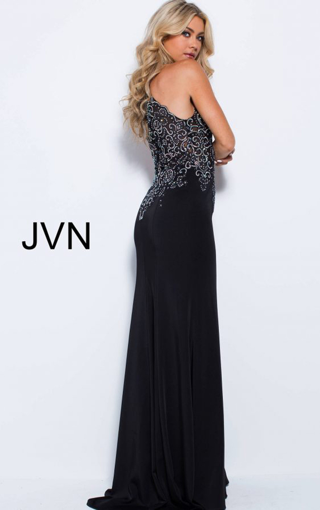 Jovani - Black Maxi Evening Dress (JVN51320)