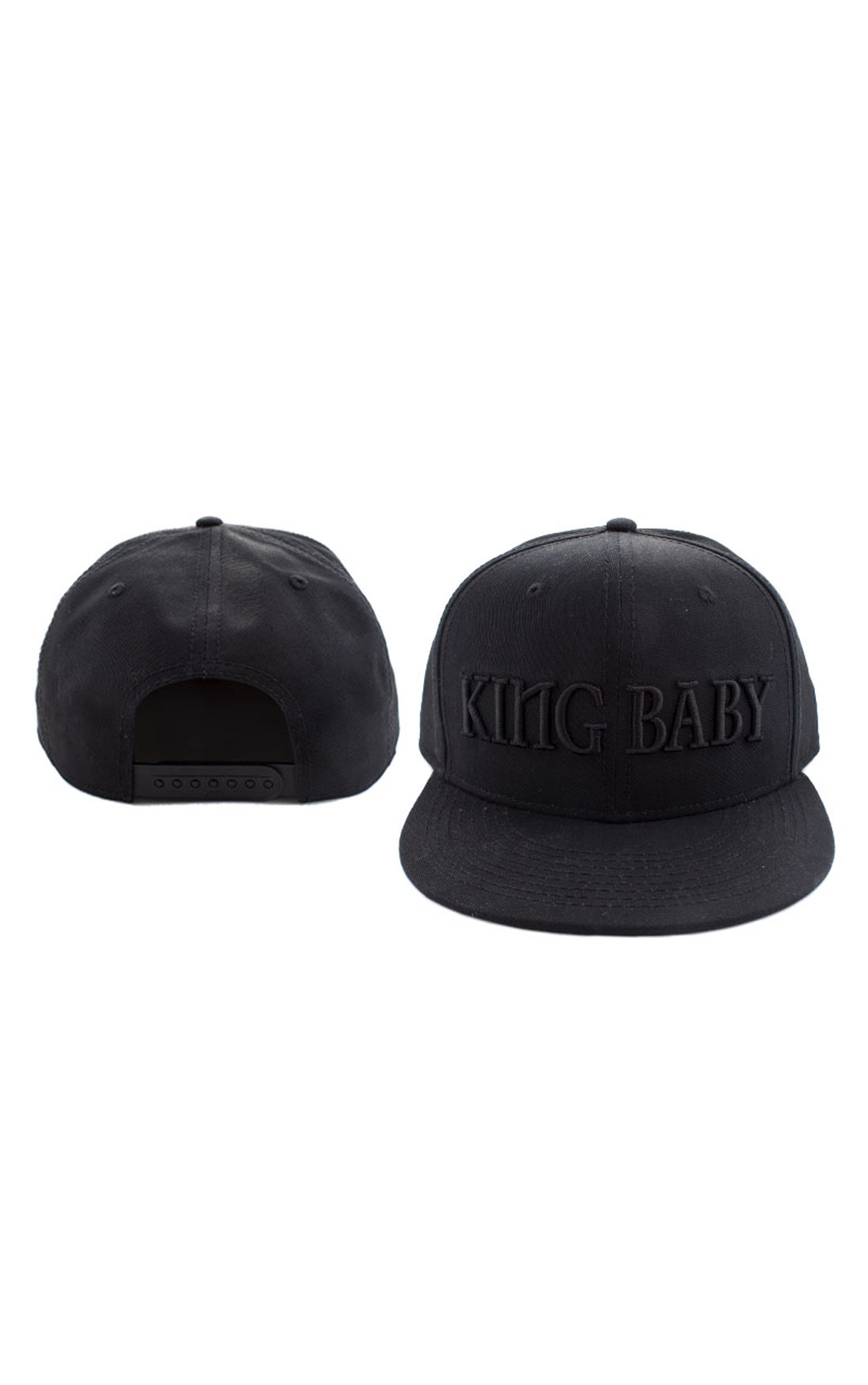 King Baby - King Baby Hat Black on Black (A80-5026)
