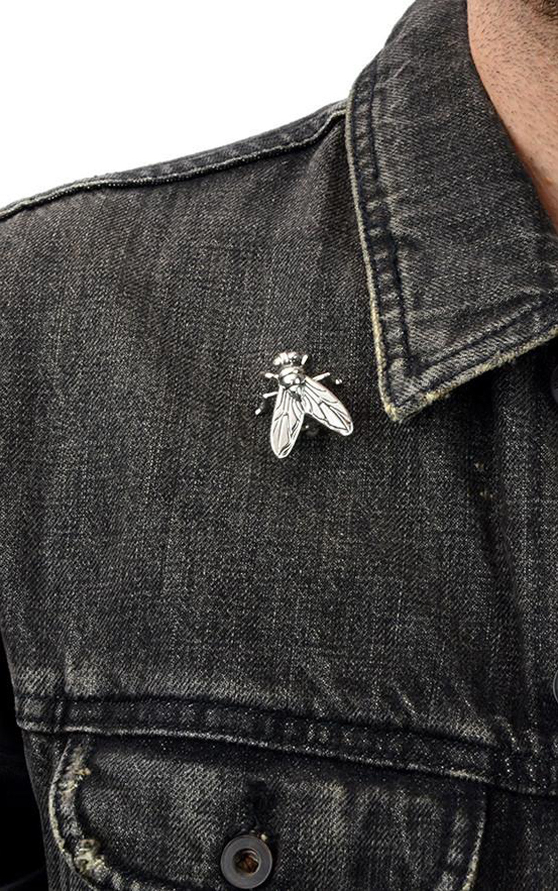 King Baby - Fly Lapel Pin (A10-5572)