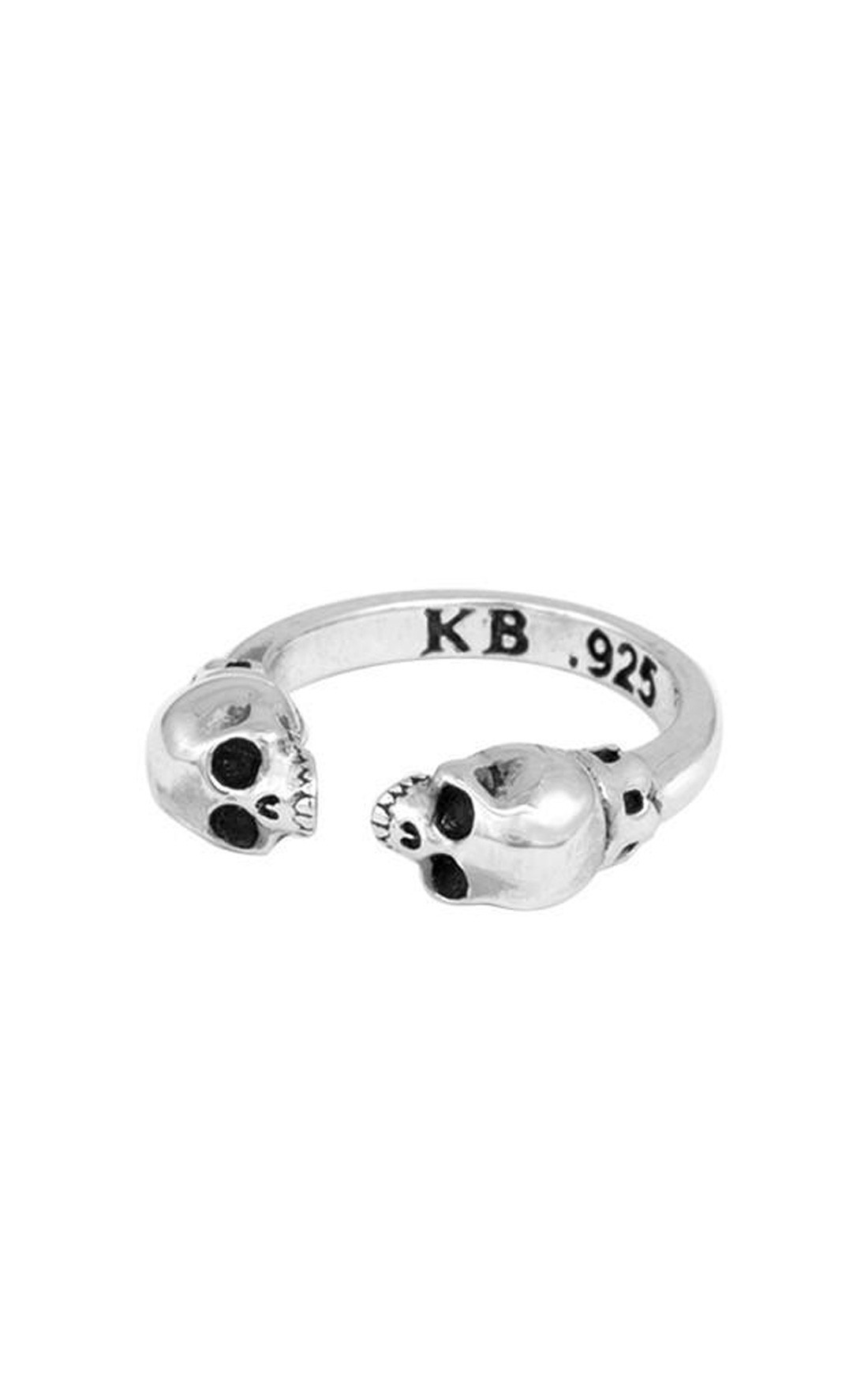 King Baby - Open End Ring with Skulls (K20-5960)