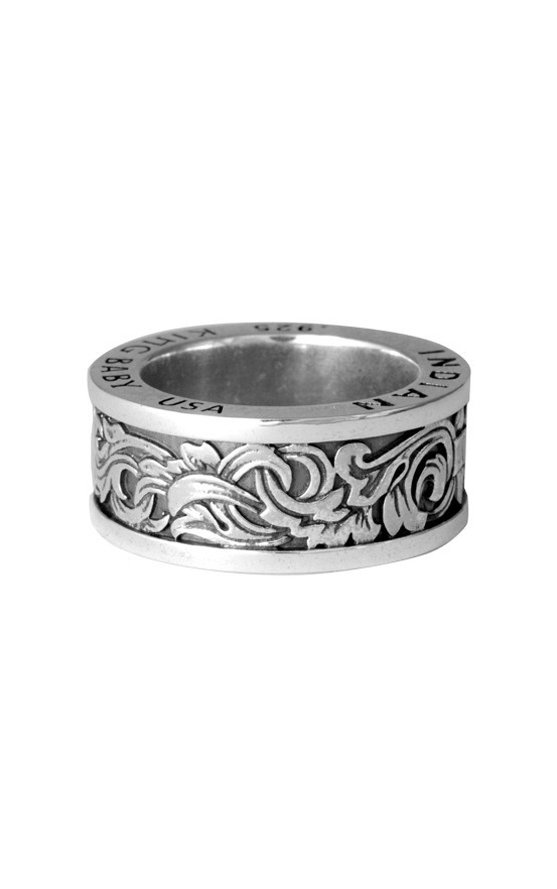 King Baby - Engraved Scroll Band (K20-5713)