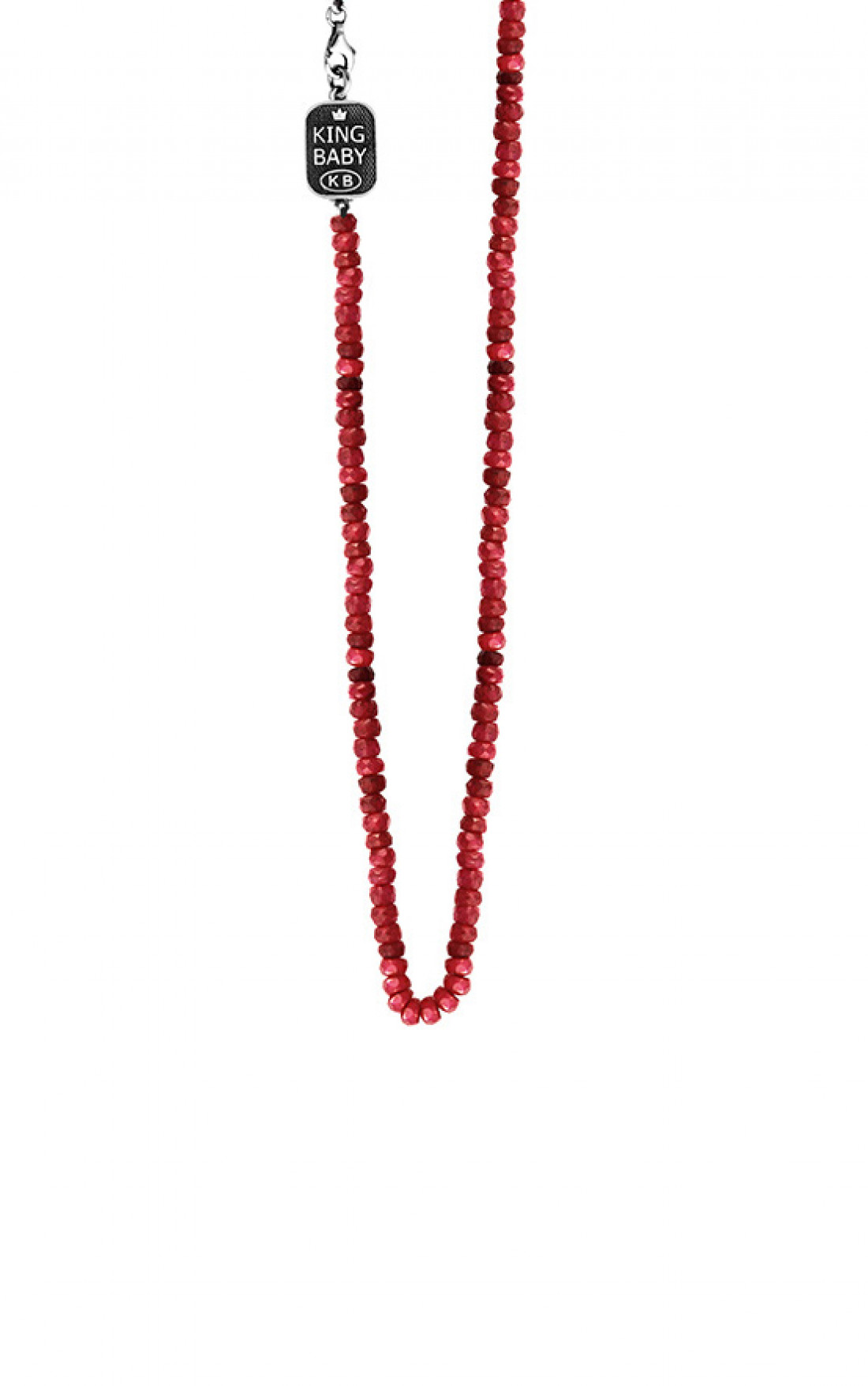 King Baby - Ruby Bead Necklace (K55-5100)