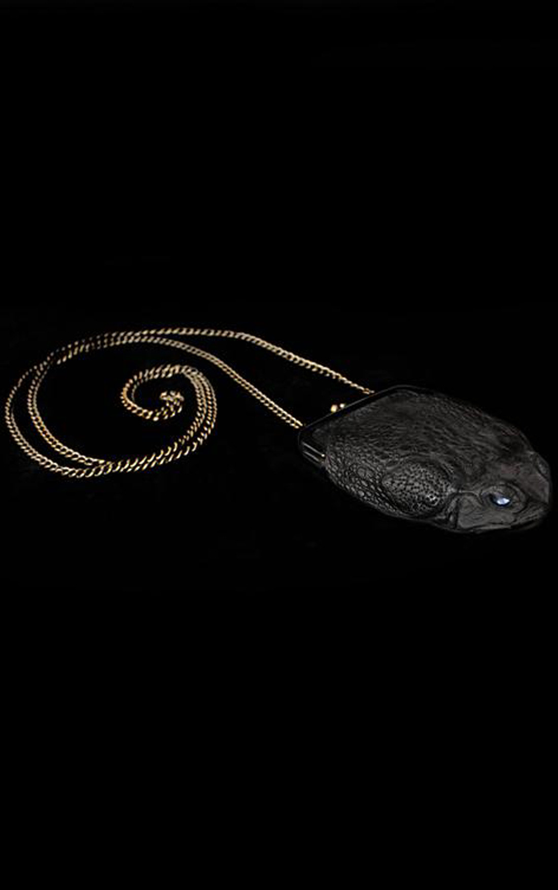 Kobja - Black Purse with Chain (BlackChain)