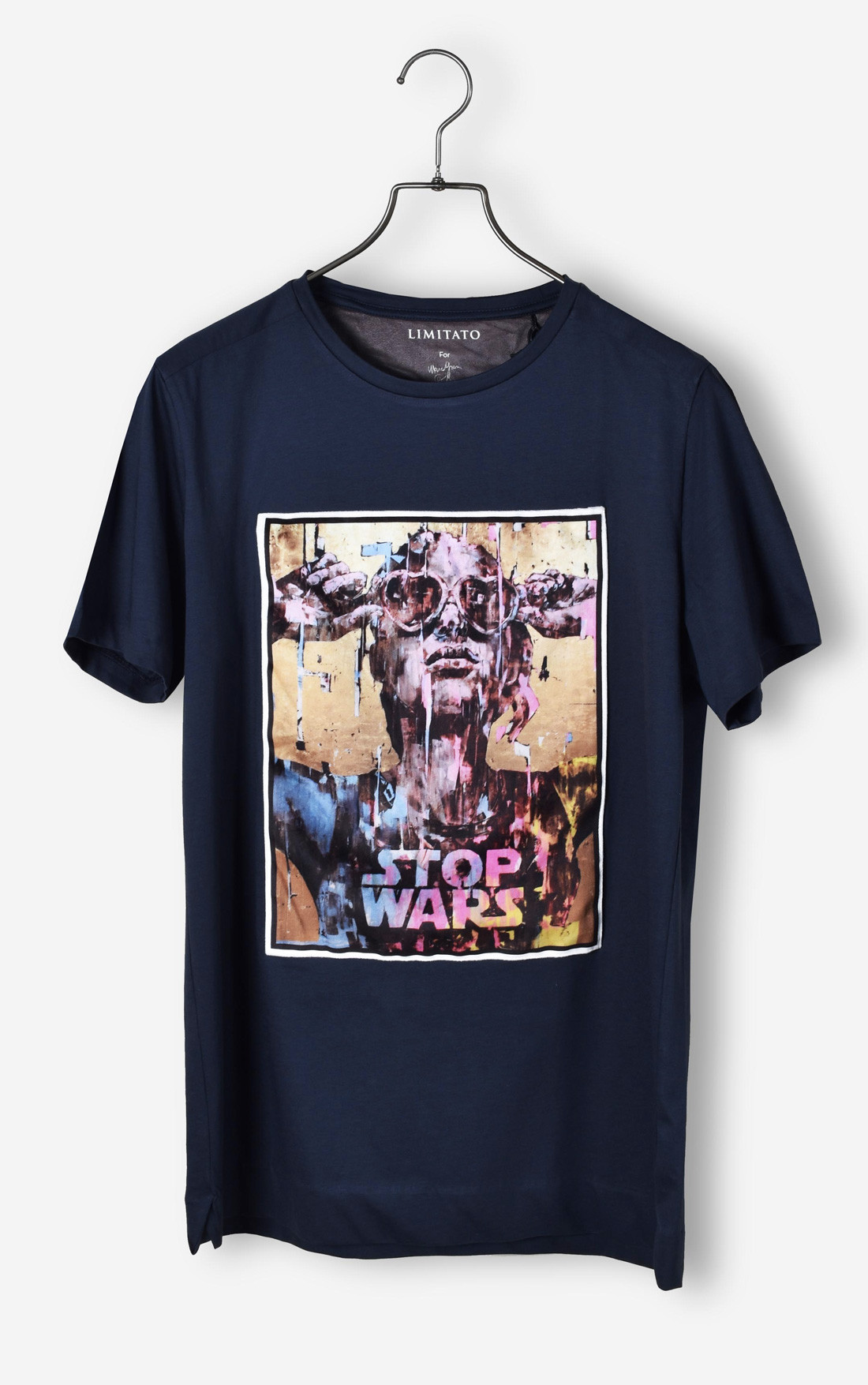 Limitato - Stop Wars Midnight Blue T-Shirt (STOPWARSBLUE)