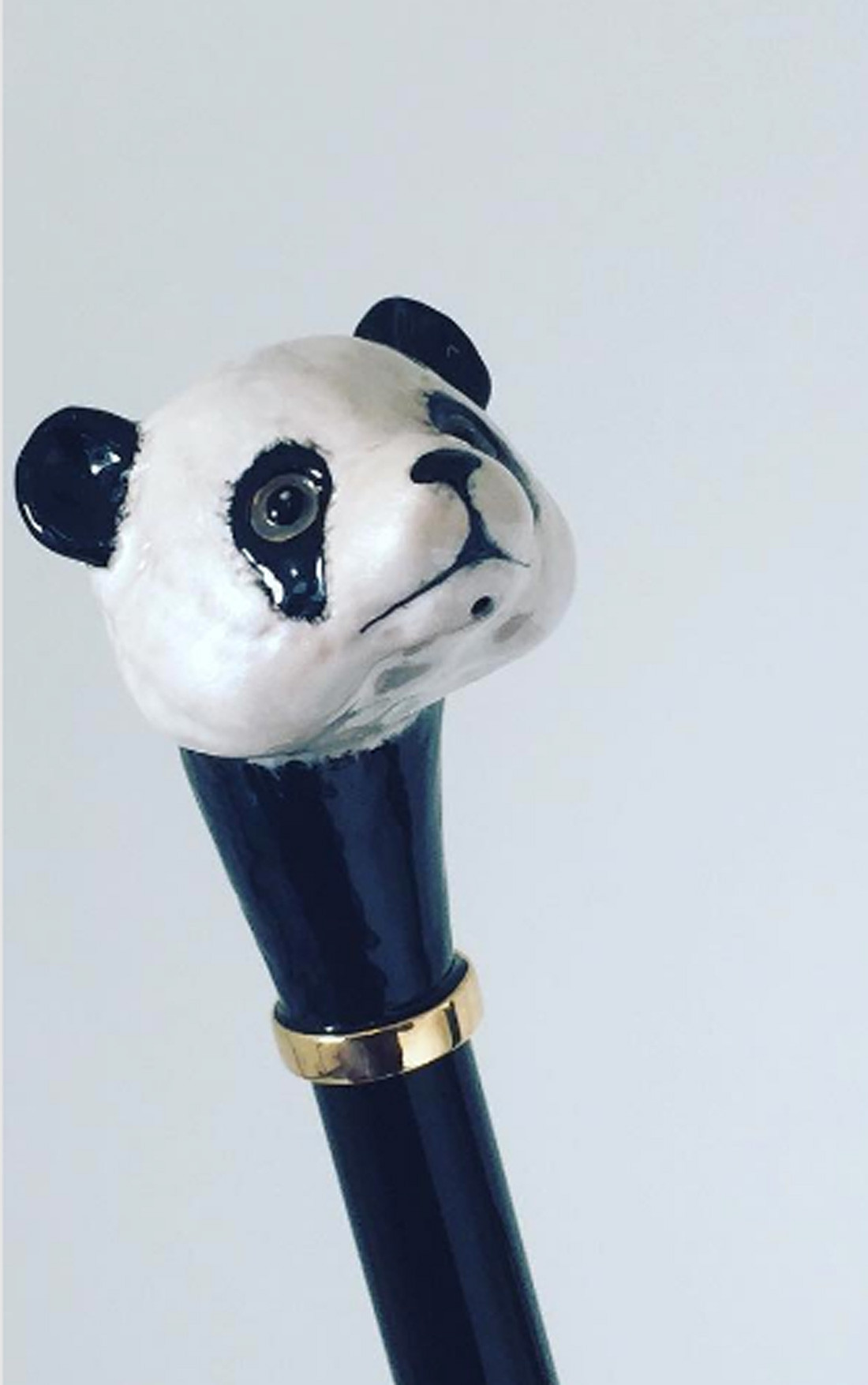 Pasotti - Panda Umbrella (479-63/8-RASO-OXFORD/18-K60PANDA)