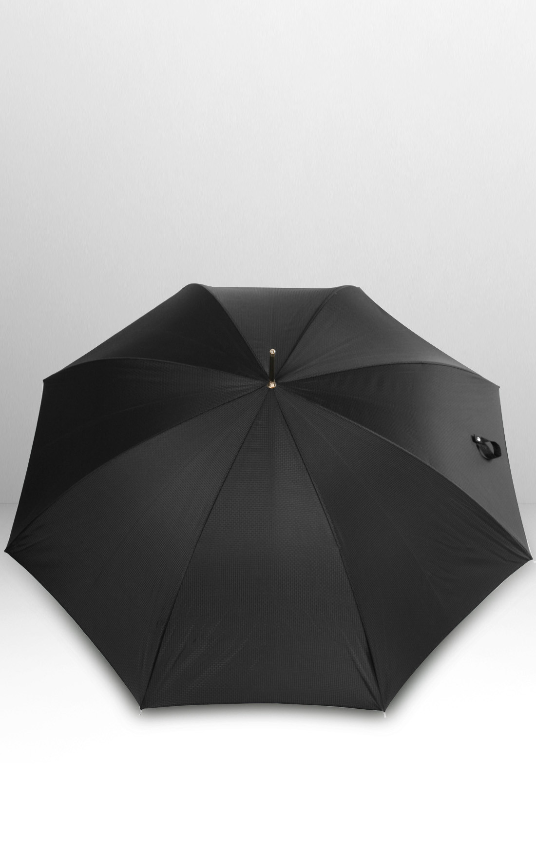 Pasotti - Black Skull Umbrella (478-OXFORD/18-W33TESTINA-NERA)