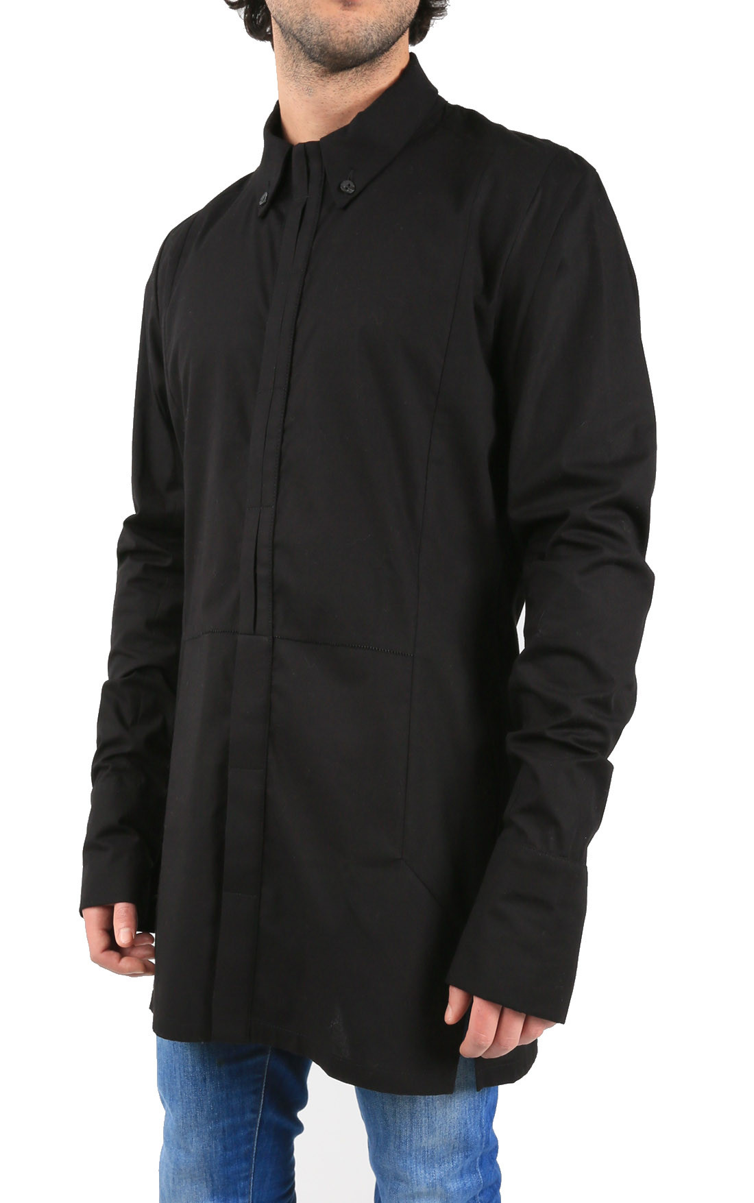 PREACH - Kepler Long Black Shirt (09301516-102-00)