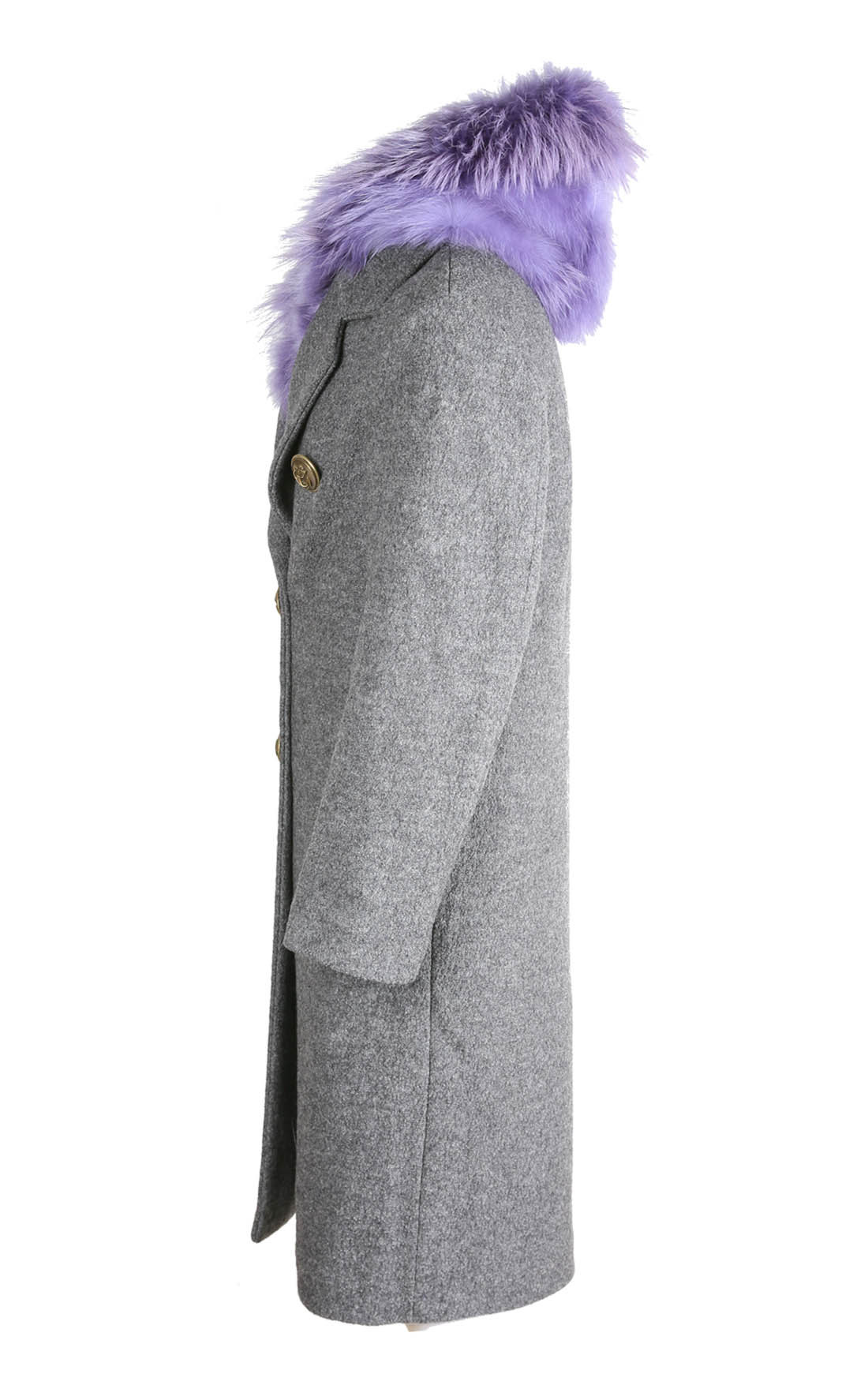 Project Foce - Clara Grey Double Breasted Coat (Clara)