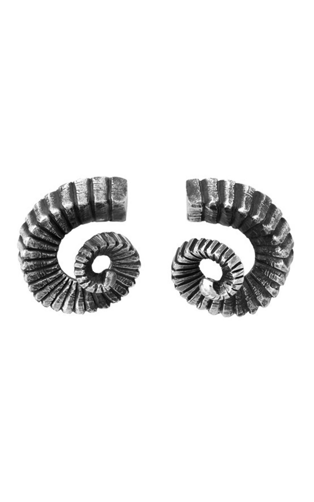 King Baby - Ram Horn Stud Earrings (K60-9077)