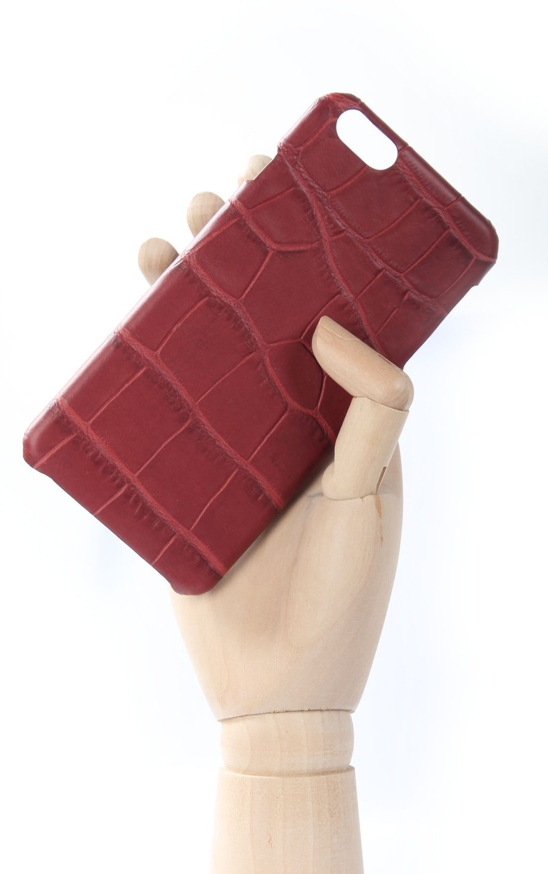 The Case Factory - Crocodile Bordo iPhone 6 Plus (102046)