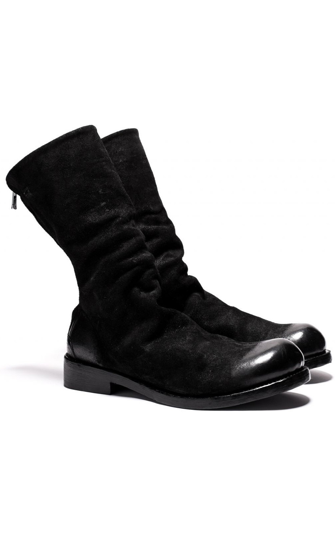 The Last Conspiracy - Skjold Waxed Suede Ankle Boots (TLC2168)