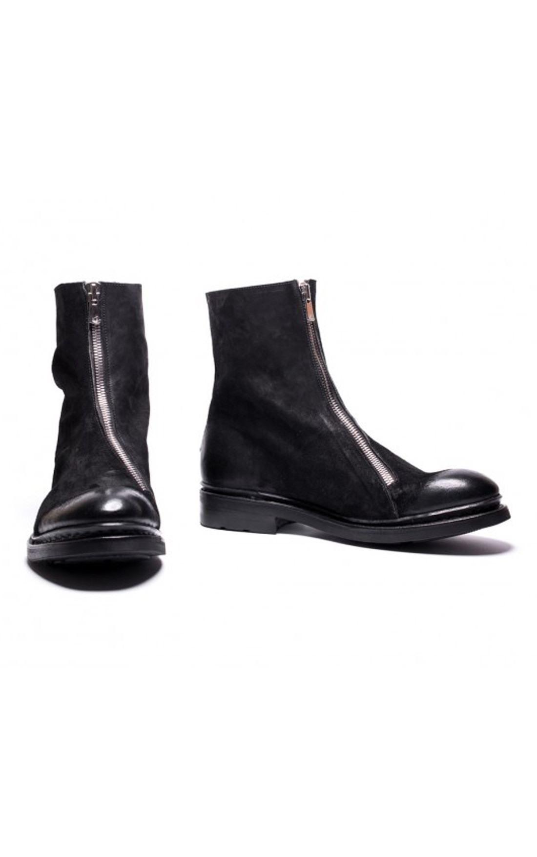 The Last Conspiracy - Magne Waxed Suede Ankle Boots (TLC1744)
