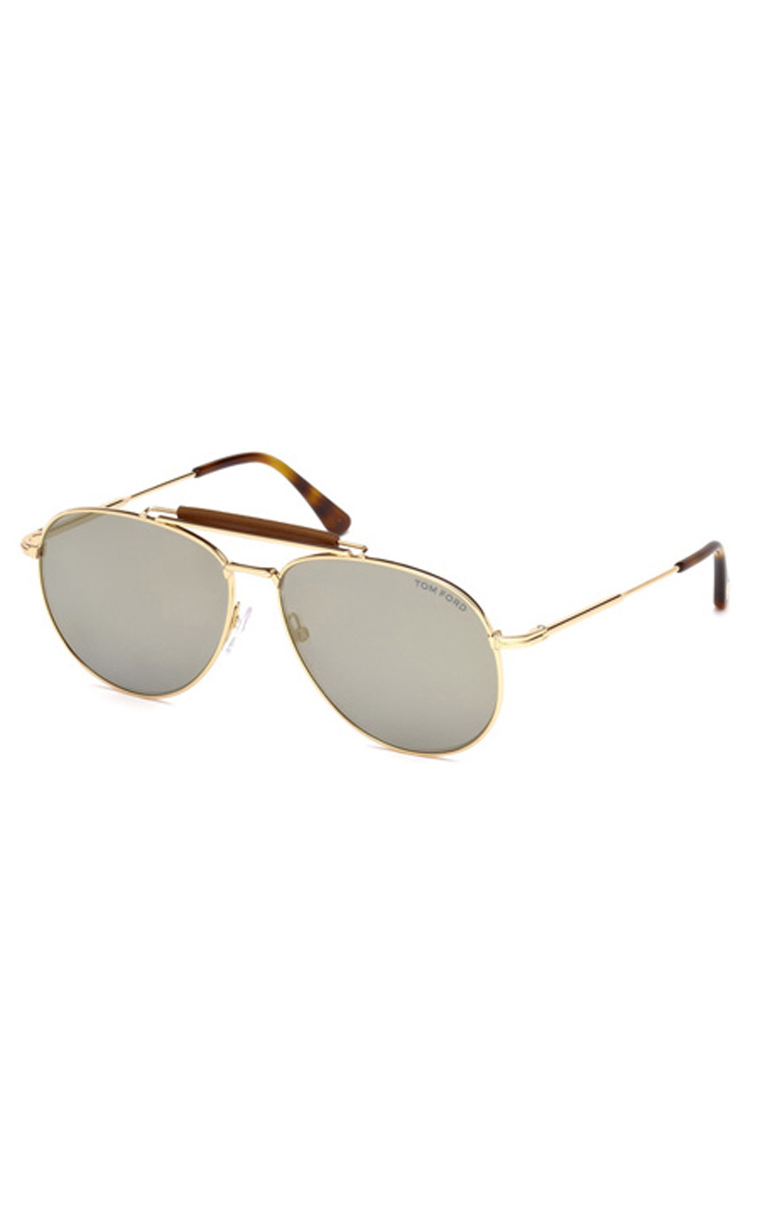 Tom Ford - Sean Shiny Rose Gold Aviator Sunglasses (FT05366028C)
