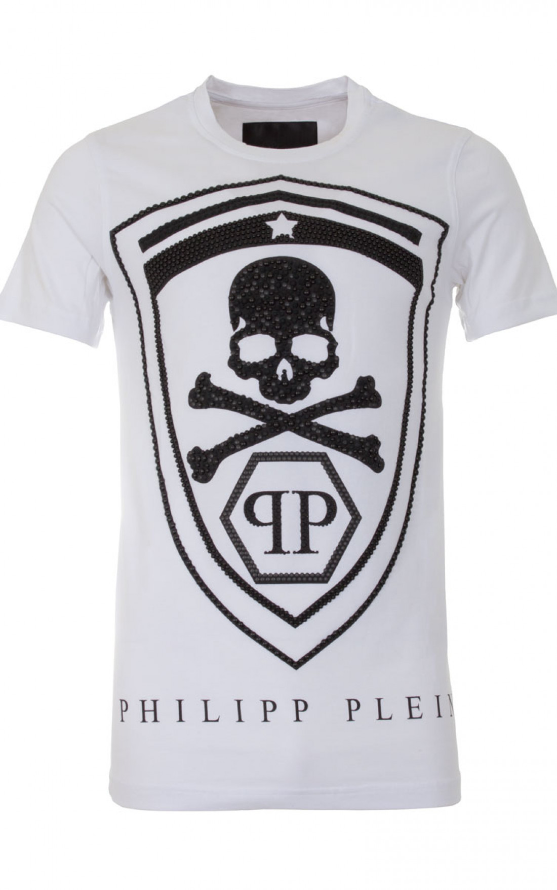 philipp plein 39 honour 39 t shirt white mens t shirt. Black Bedroom Furniture Sets. Home Design Ideas