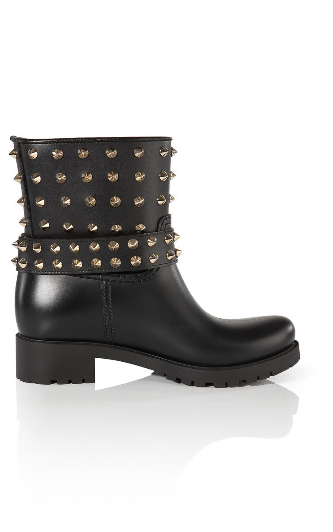 Philipp Plein - 'Miami' Rubber Shoes Black In Side (FW14-SW014078)