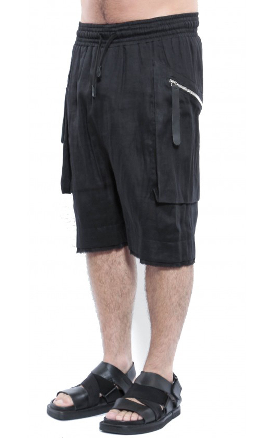 David's Road - Double Cotton Shorts with Zip (MSS18-TR10)