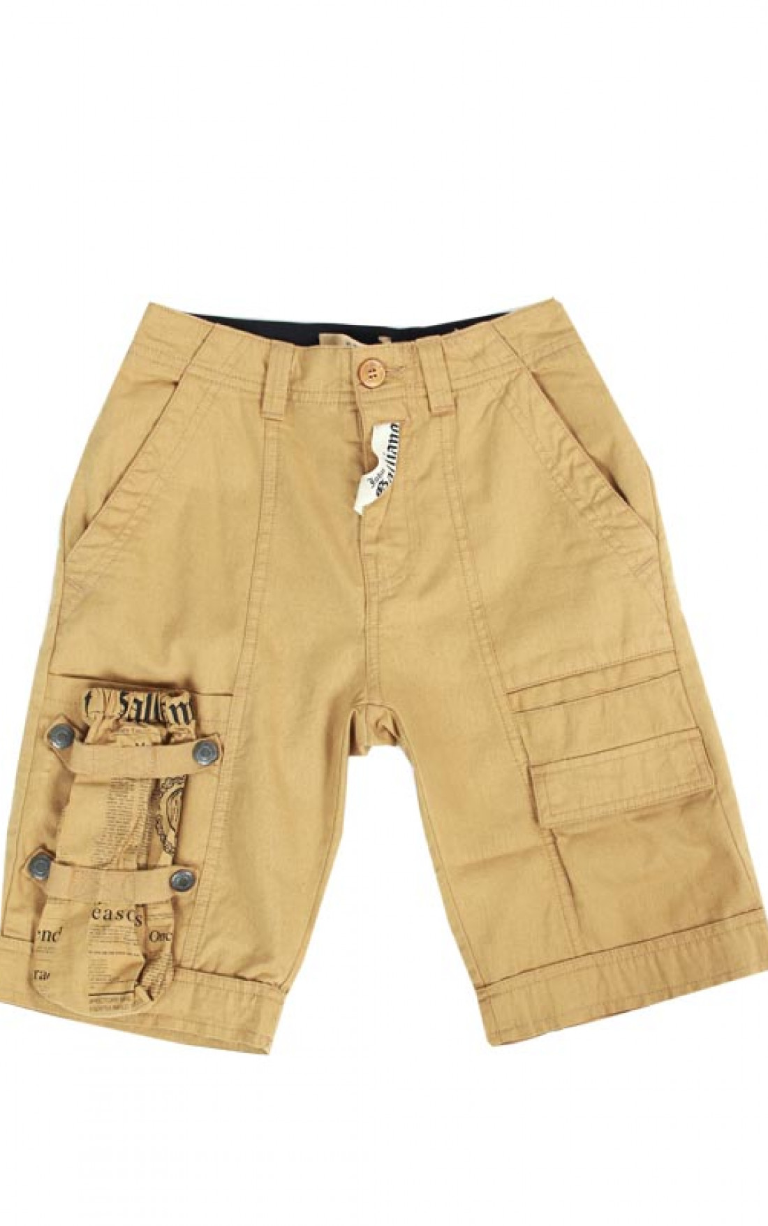 John-Galliano-Kids-Boys-Tan-Shorts-Boudi-UK