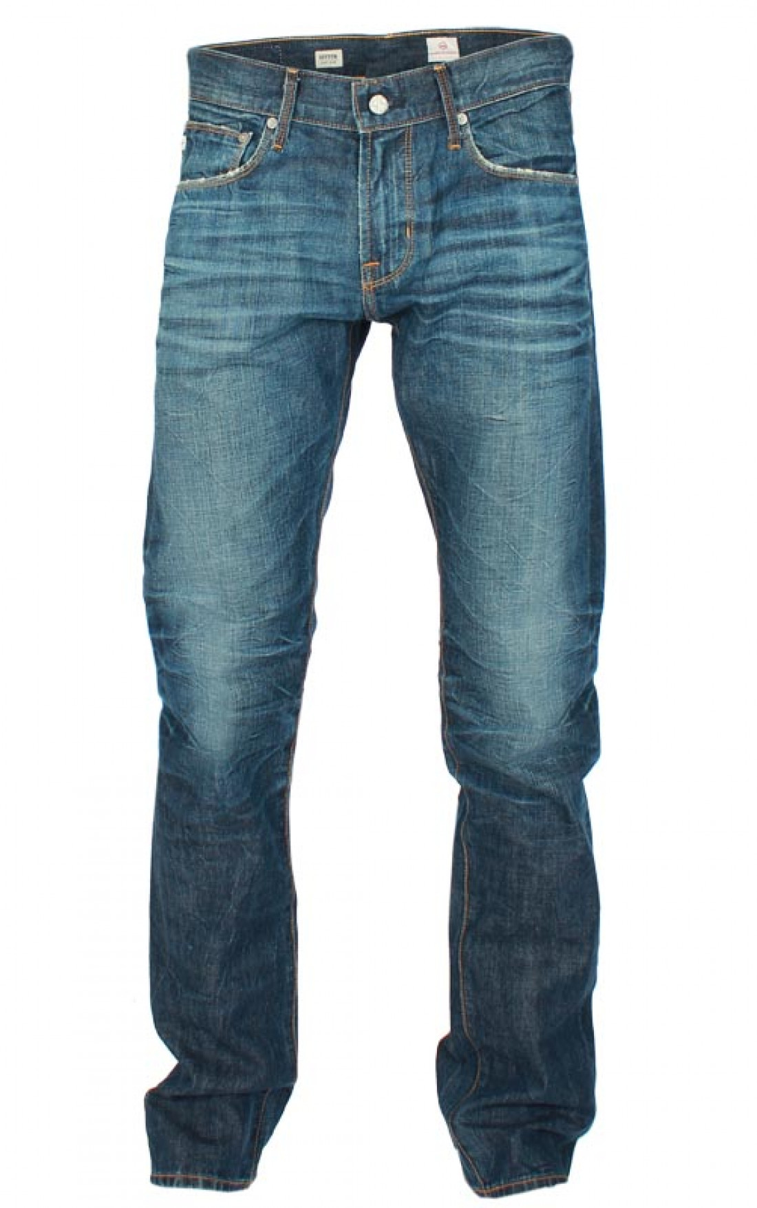 Adriano-Goldschmied-Mens-Straight-Leg-Geffen-Dark-Blue-Jeans-Boudi-UK