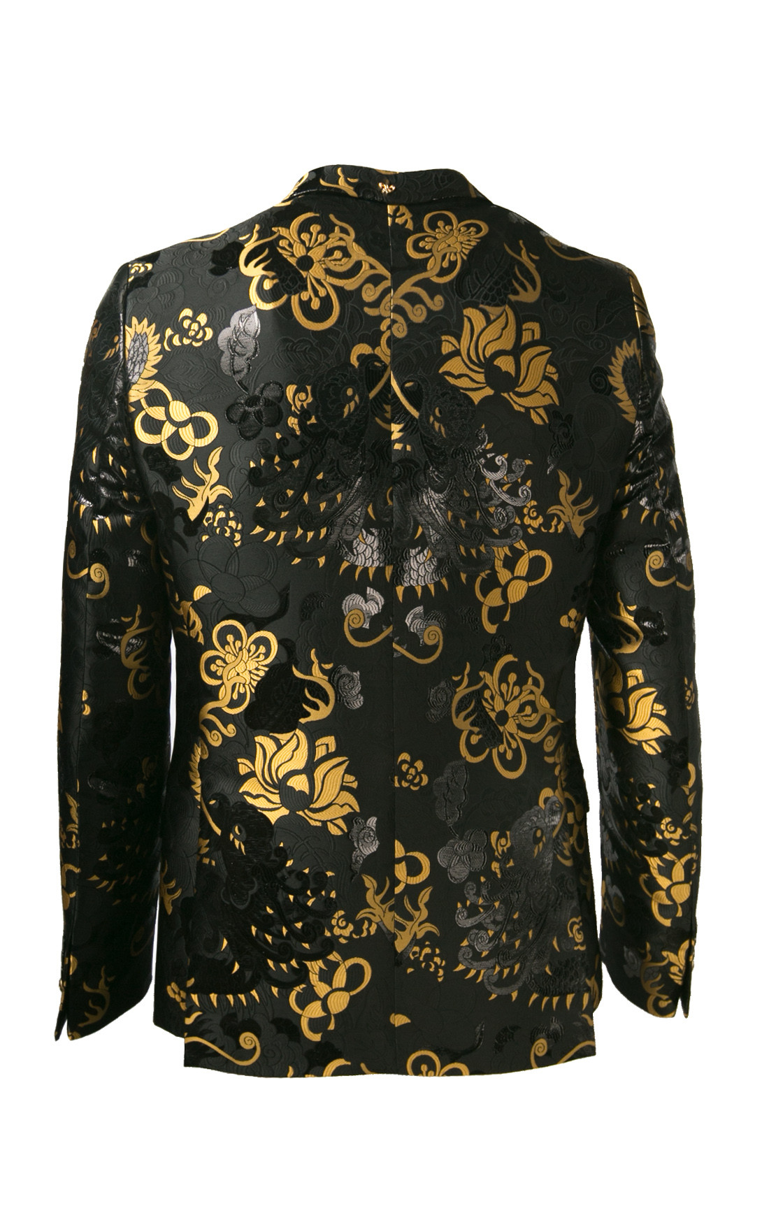 Lords and Fools - Pic Black Floral Blazer Jacket (W19/PIC/24518)