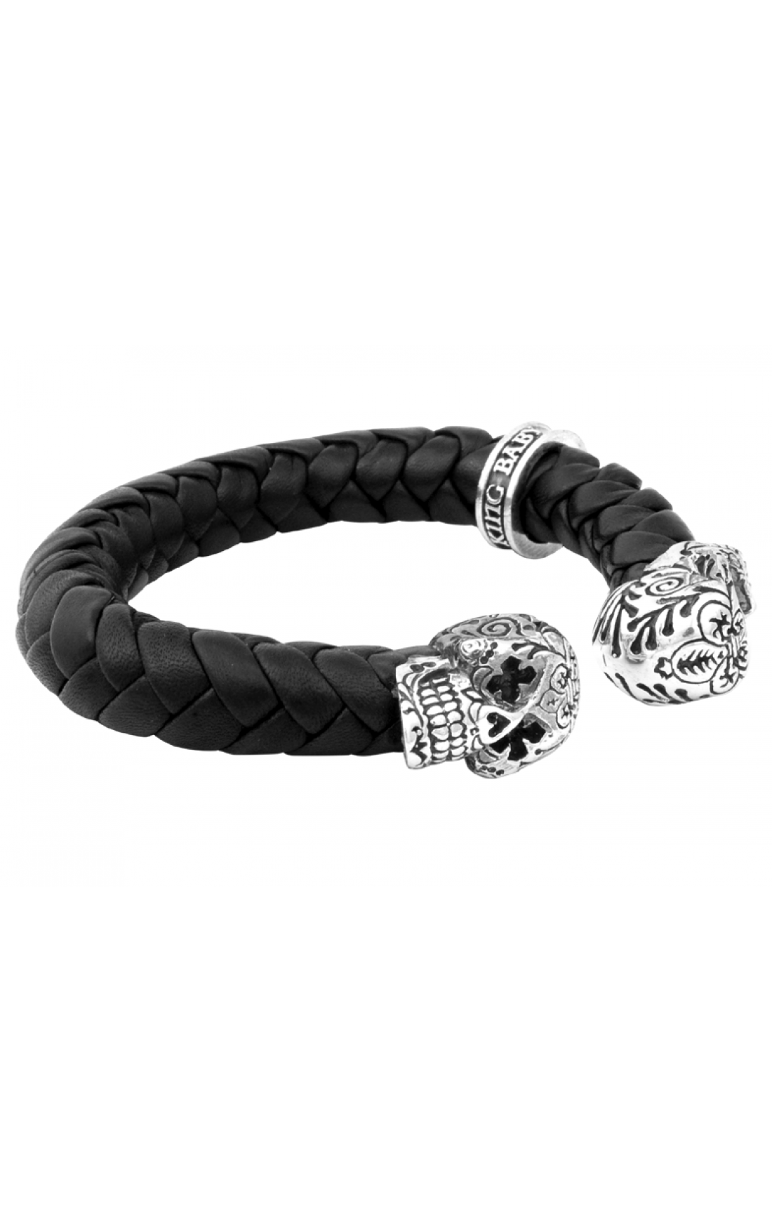 King Baby - Small Day of the Dead Skulls Cuff (K40-8088)