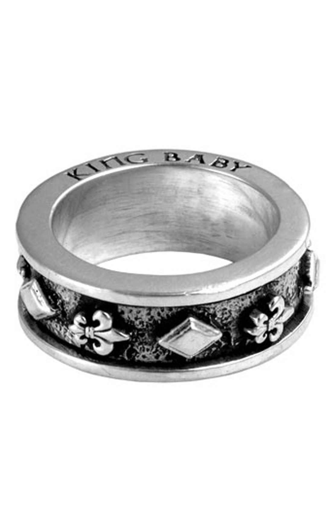 King Baby - Silver Spinner Ring Combo (K20-5087)