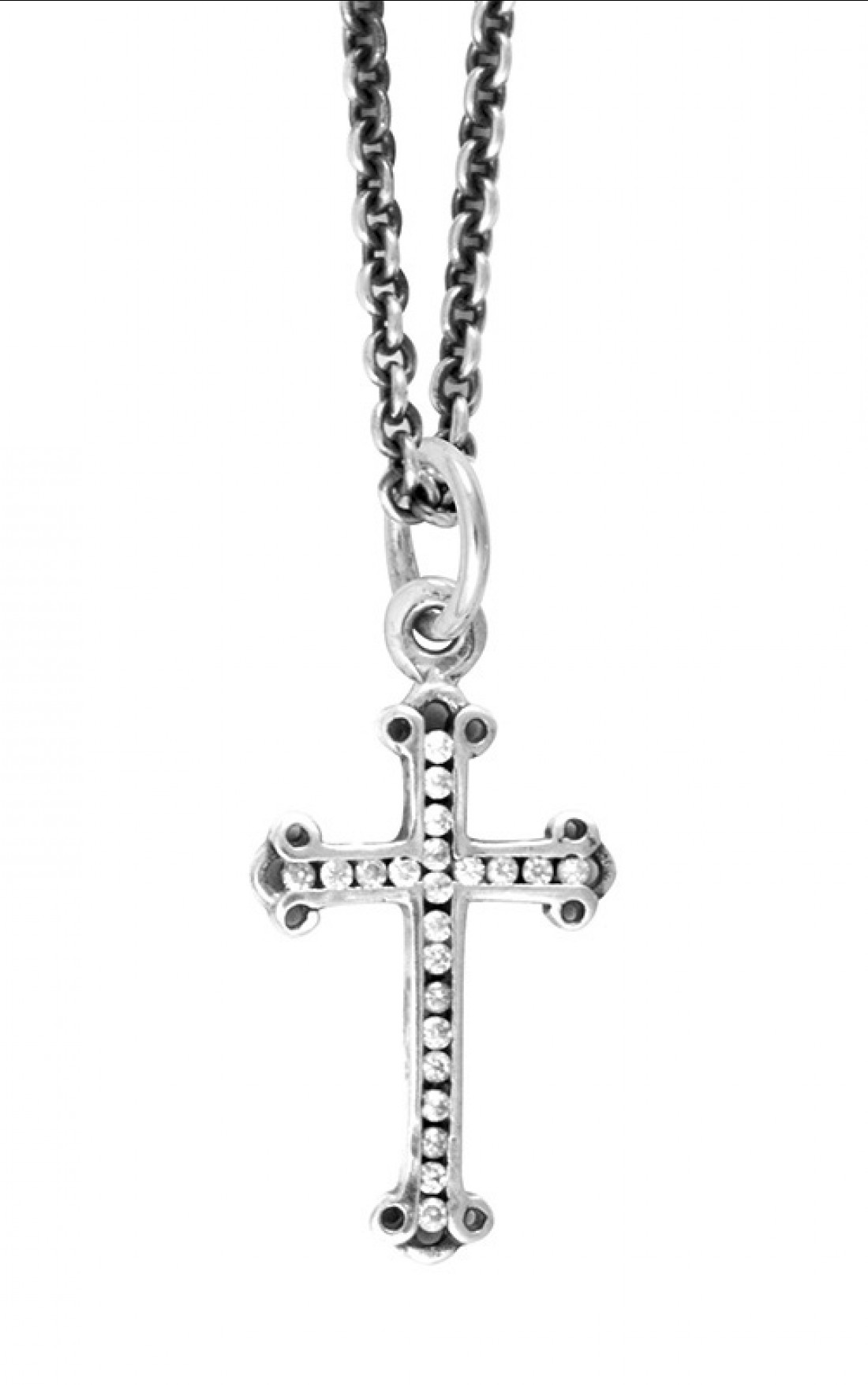 King Baby - MIcro Cz Pave Traditional Cross Pendant (K10-5478)