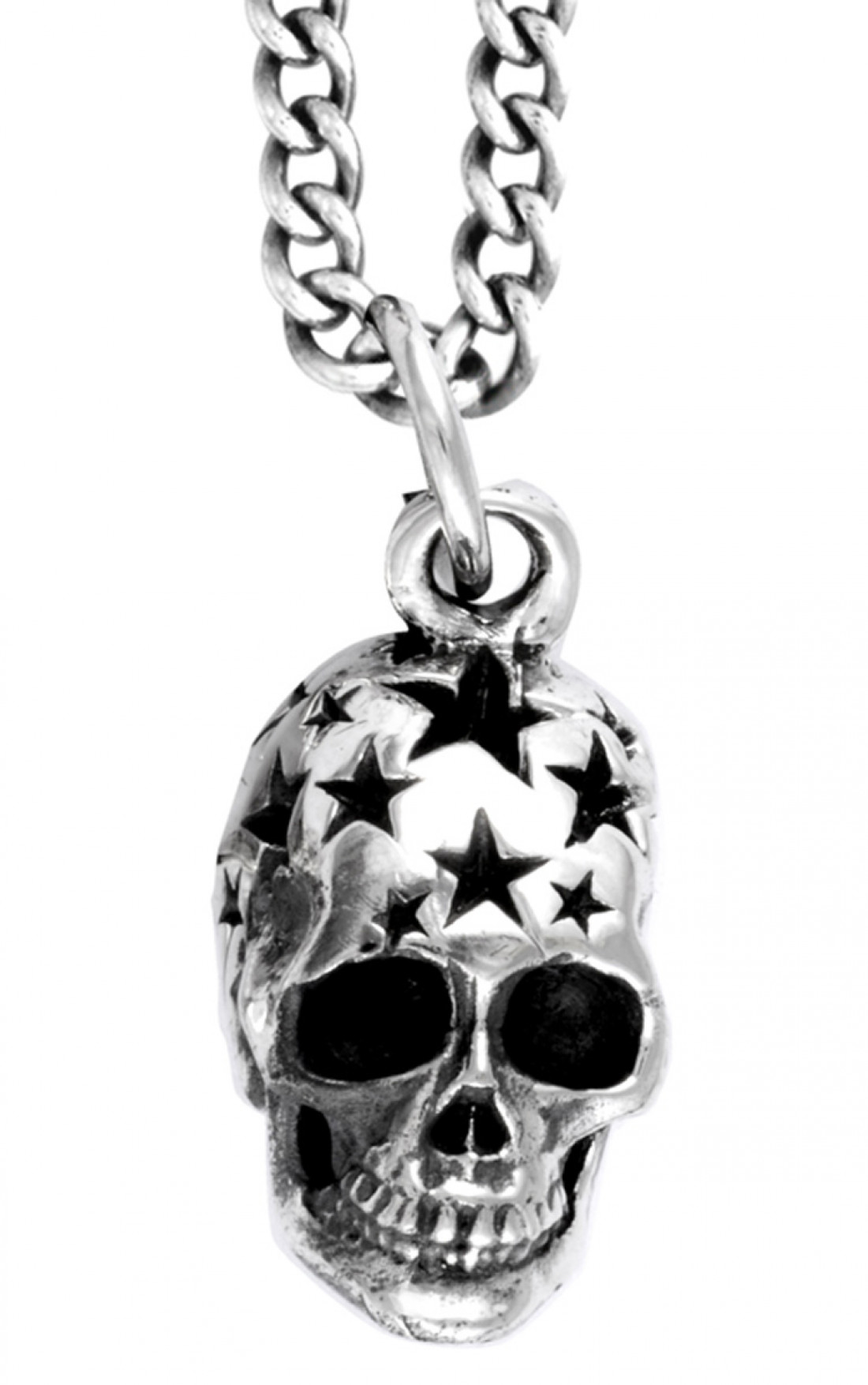 King Baby - Small All Star Skull Pendant (K10-5868)