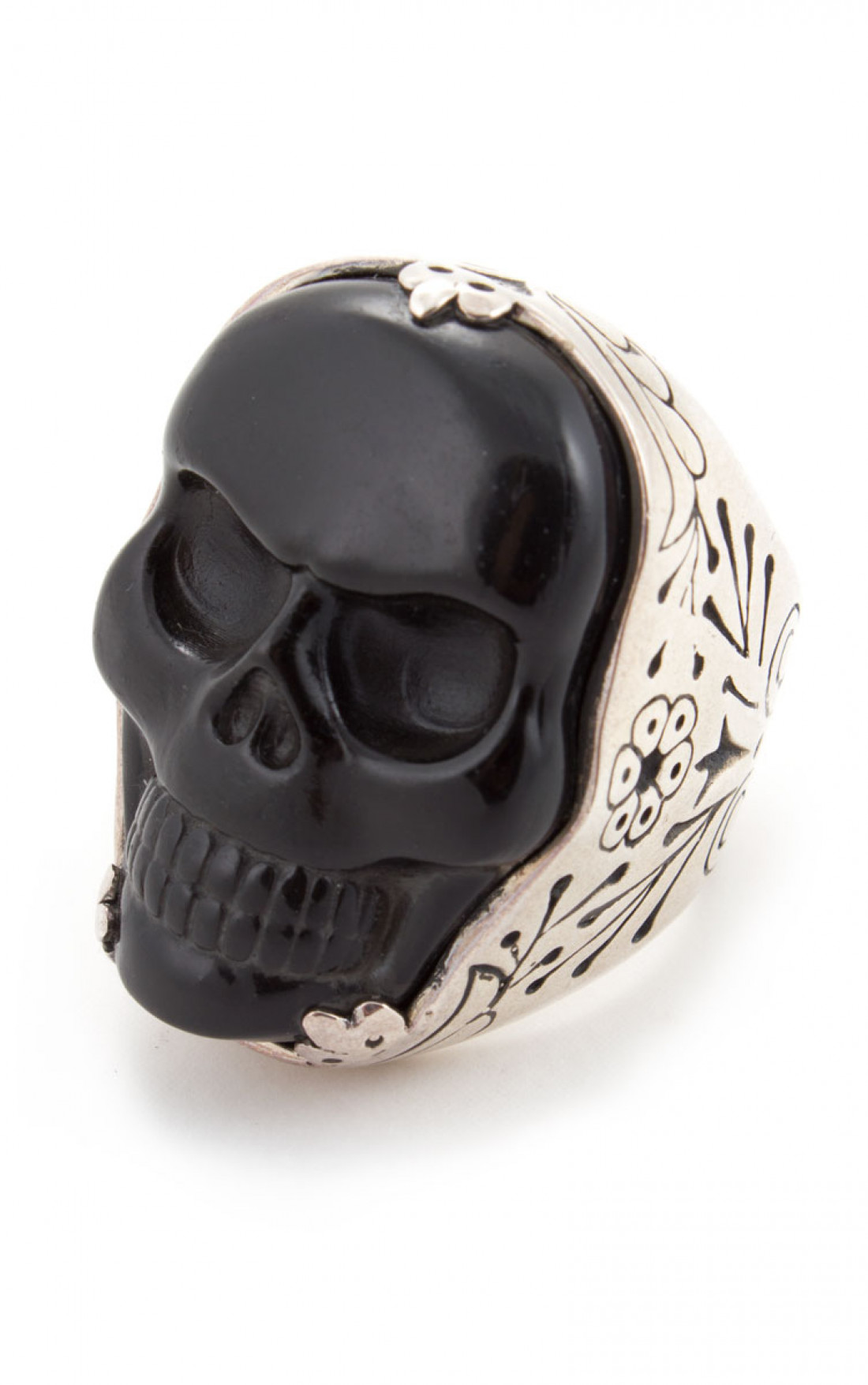 King Baby - Black Skull Ring (K20-5683)
