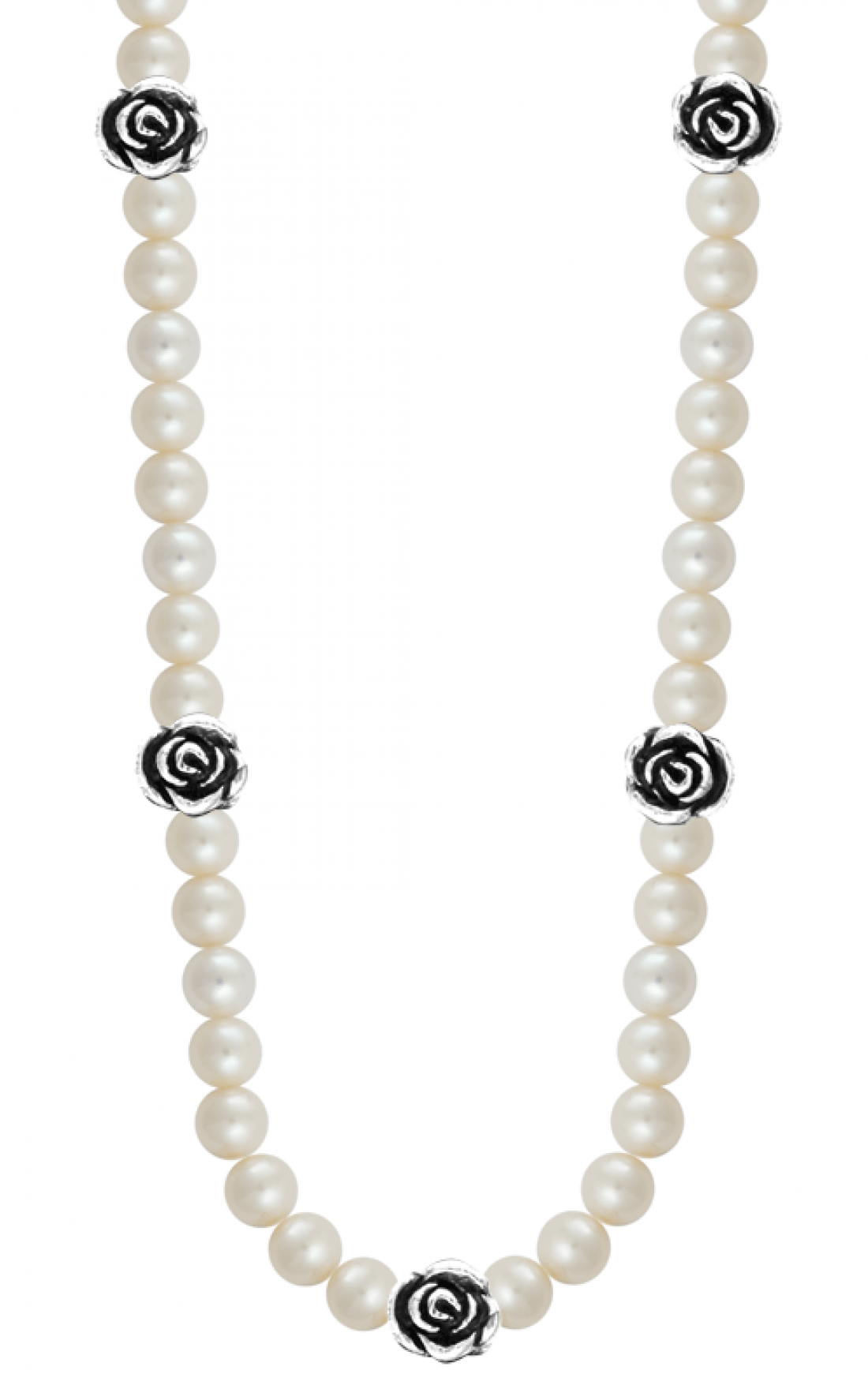 Queen Baby - Rose Pearl Necklace (Q52-5169W)