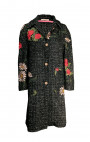 Ermanno Gallamini - Black Floral Coat