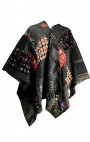 Ermanno Gallamini - Grey Floral Cape