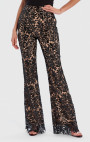 Forever Unique - Jenny Black Sequin Floral Embroidered Tailored Suit Trousers